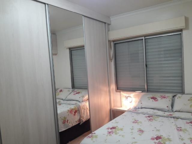 Apartamento 2 dormitórios semi mobiliado com vaga de estacionamento - Foto 10