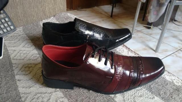 Kit 6 sapatos sociais atacado-frete gratis - Foto 2