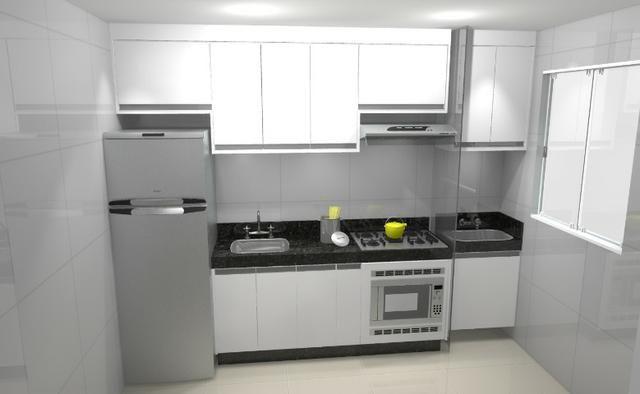 Cozinha armário Planejado 100% MDF. S/ a pedra - Foto 2