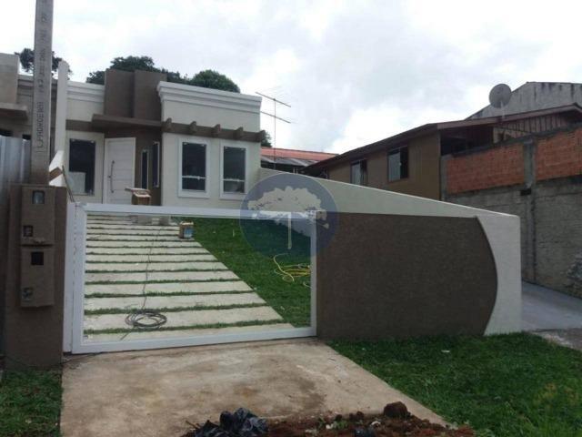Casa com 3 dormitórios à venda, 66 m² - Porto das Laranjeiras - Araucária/PR - Foto 2