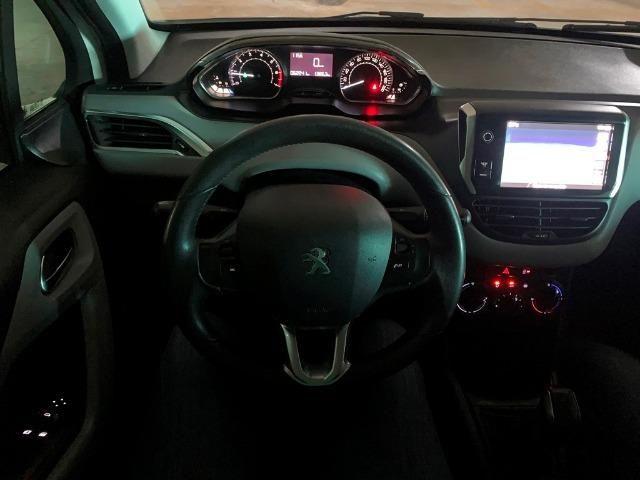 Peugeot 208 Allure 1.5 Manual 2014 Completo + Teto Panorâmico + central Multimídia - Foto 15