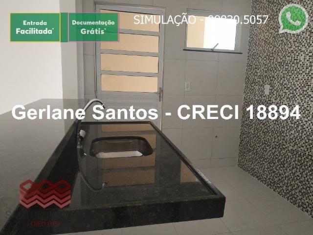 Escritura Grátis Casa 02 Quartos, 2 banheiros, 2 garagens - Foto 10