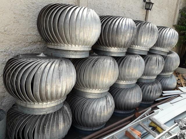 Exaustor eolico ventilação residencial comercial e industrial,