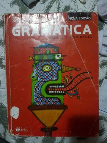 Livro gramática- teoria e atividades