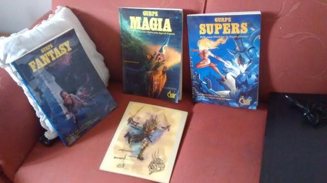 Livros de RPG Gurps