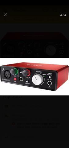 Interface Áudio Scarlett Solo USB (2a Geração) FOCUSRITE - Foto 3