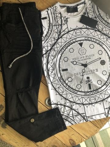 Calças bermudas camisetas shorts - Foto 5