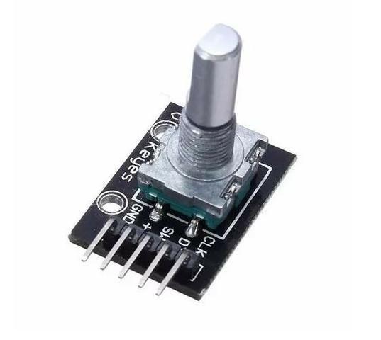 COD-AM87 Encoder Decoder Rotacional Potenciometro Arduino Automação Robotica - Foto 2