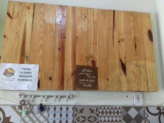 Paineis de madeira