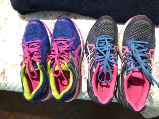 3109f9f79f Lindos tênis asics semi novos - Roupas e calçados - Laranjeiras