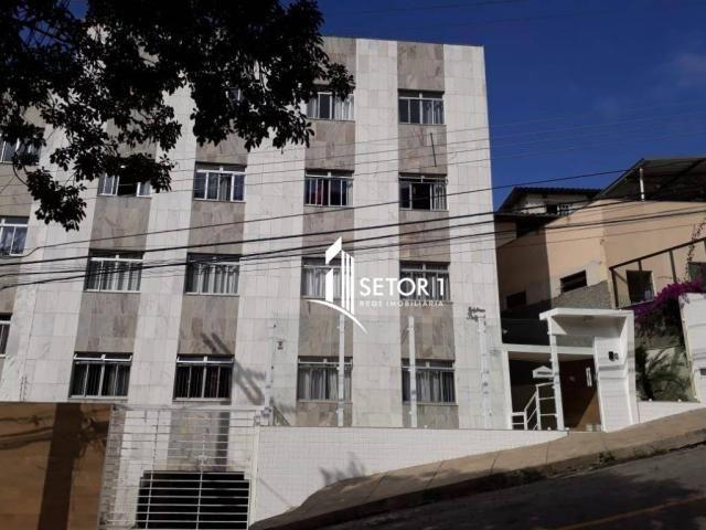 Apartamento com 2 dormitórios para alugar, 84 m² por r$ 850,00/mês - são mateus - juiz de