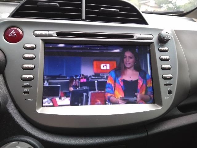 Honda FIT automático 1.4 Flex 2014 Kit multimídia TV digital - Ótimo Estado - Foto 6