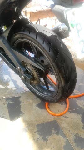 Vendo moto NAZAXX ou troco em carros q esta bem conservado - Foto 4