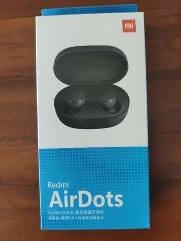 Fones sem fio Xiaomi.Air Dots novo lacrado com garantia e entrega imediata