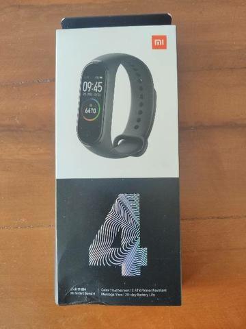 Mi Band 4 da Xiaomi. Novo lacrado com garantia e entrega imediata