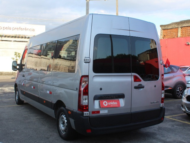 Master Minibus 16 lug Executive L3h2 2.3 / 2019 - Super Nova / Único Dono - Foto 5