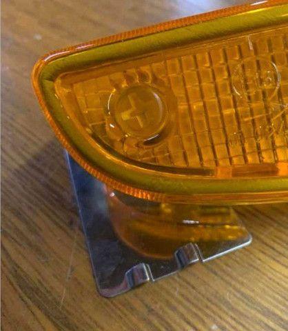 Lente da lanterna dianteira Twingo - Foto 4