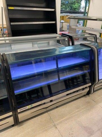 Balcão refrigerado- tubulação em cobre- para frios e laticínios - freezer  - Foto 4