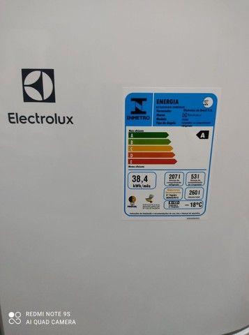 Refrigerador Electrolux 260 Litros + NF E Garantia De 1 Ano --- Sem Uso !!! - Foto 6