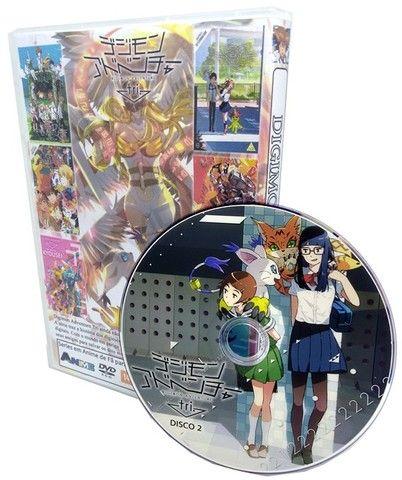 Box Dvd Digimon Adventure Tri Completo 6 Filmes - Foto 3