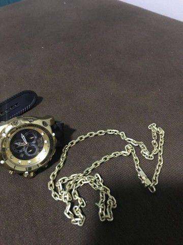Relógio e cordão  - Foto 3