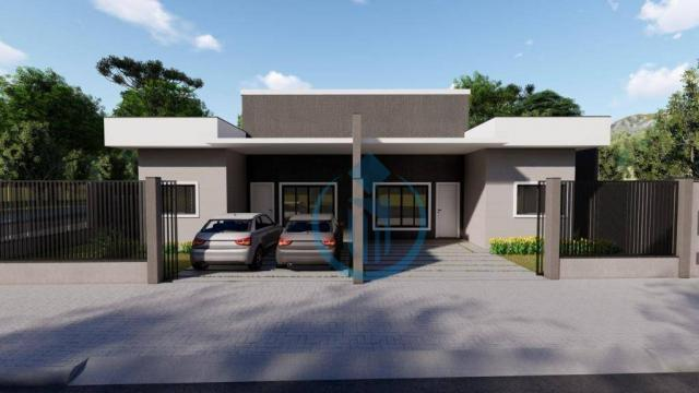 Casa com 2 dormitório à venda, 64 m² por R$ 225.000 - Sao Caetano - Foz do Iguaçu/PR - Foto 7