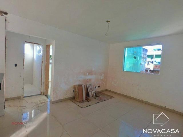 Apartamento com 3 dormitórios à venda, 60 m² por R$ 240.000,00 - Mantiqueira - Belo Horizo