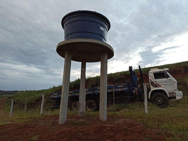 Poste caixa da água + laje instalado.  - Foto 2
