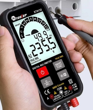 Multimetro Smart com Amprímetro (NOVO)