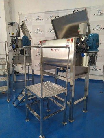 Misturador Industrial de Pós Ribbon Sample Blender - Melhor Custo Benefício do Mercado  - Foto 4