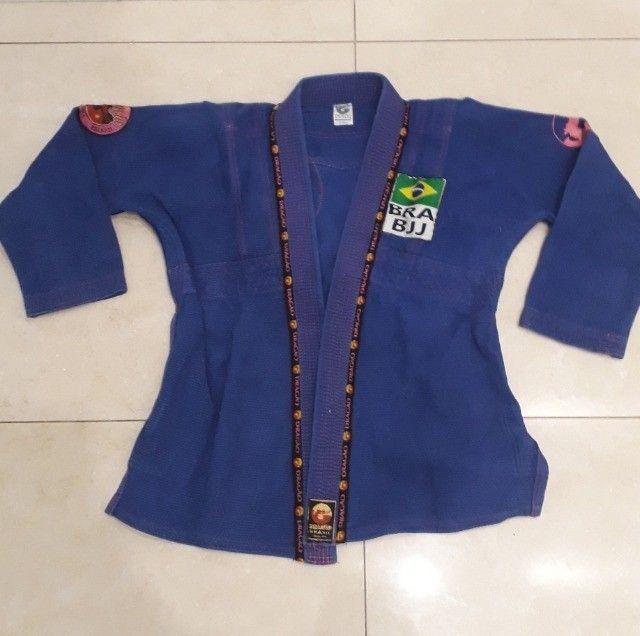 Kimono Dragão Azul e Rosa A1 - Foto 2