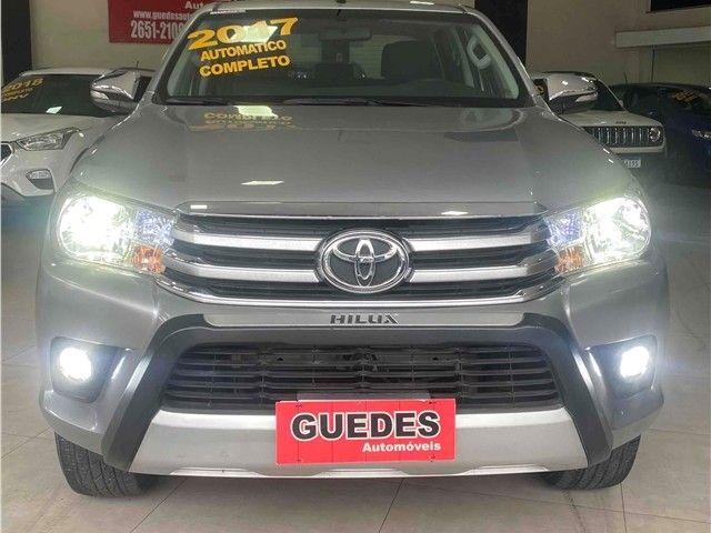 Toyota Hilux 2.7 Srv 4x2 Flex + Gnv Automático 2017!!! - Foto 5