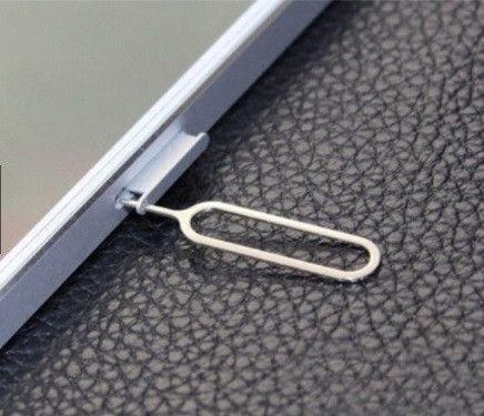 10 Pçs Removedor de cartão Sim Ejetar Pino Ejetor Ferramenta iPhone 6 5S 4S 4 3 iPad ETC - Foto 2