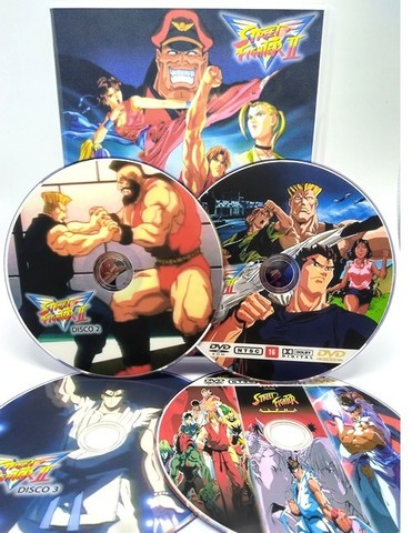 Box Dvd Street Fighter 2 Victory Dublado + 4 Filmes + Ova - Foto 2