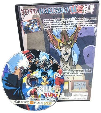 Box Dvd Yuyu Hakusho Completo Dublado + Filmes + Ovas + Extras - Foto 5
