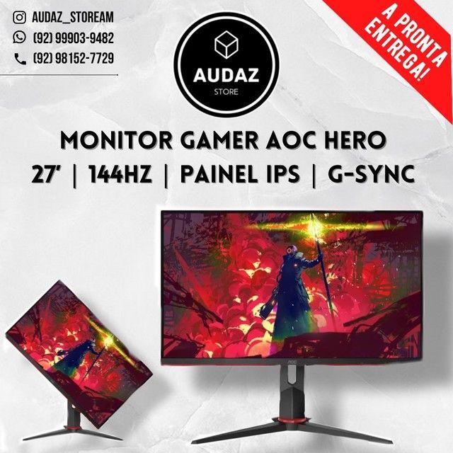 Monitor Gamer AOC Hero (144hz / 27 polegadas)