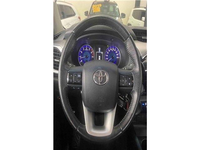 Toyota Hilux 2.7 Srv 4x2 Flex + Gnv Automático 2017!!! - Foto 10