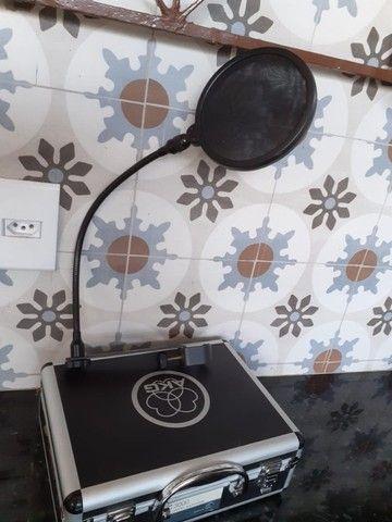 Microfone AKG C3000 Original Austríaco - Foto 5