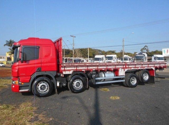 Scania P310 bitruck com carroceria e contrato de serviço(Lucas do Rio Verde) - Foto 12