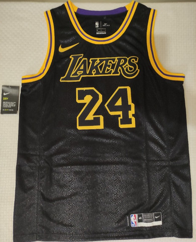 "Camisa Los Angeles Lakers ""City Edition"" - Kobe Bryant - Foto 2"