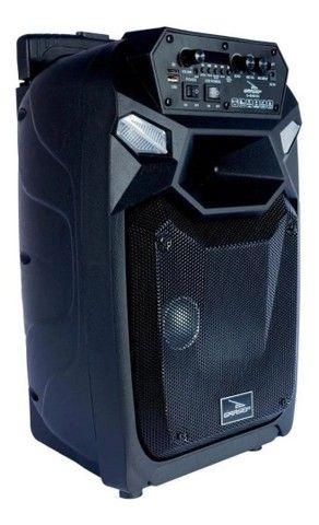Caixa De Som Bluetooth Com Microfone Recarregável Grasep<br><br> - Foto 3