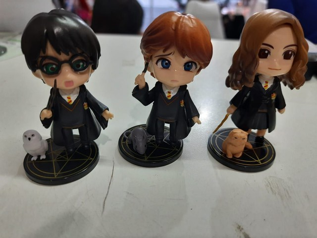 Miniaturas Harry Potter ... Trio - Foto 5