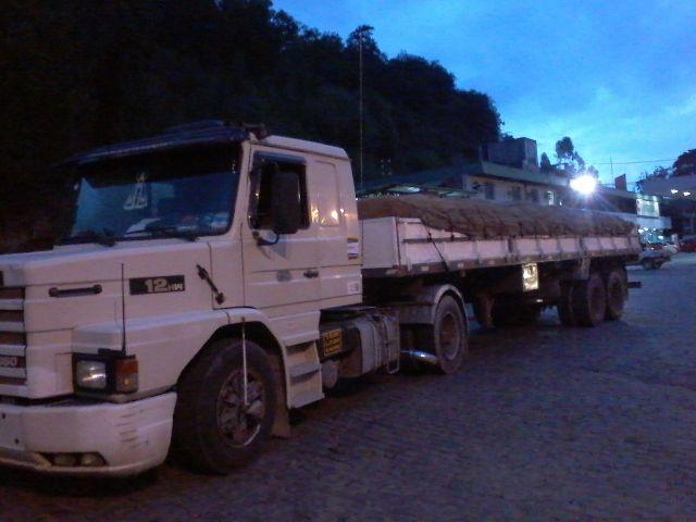 SCANIA 112HW MOTOR 360 DO 113 COM CARRETA 2 EIXOS