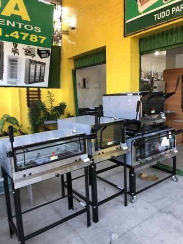 Toda linha de forno com pedra Refratária para pizzaria - várias marcas e tamanhos - - Foto 2