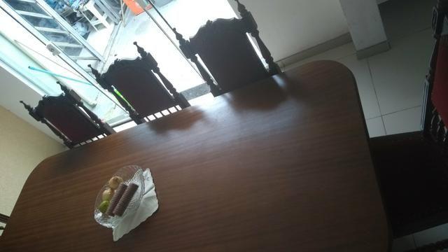 Mesa jantar Imbuia 8 lugares
