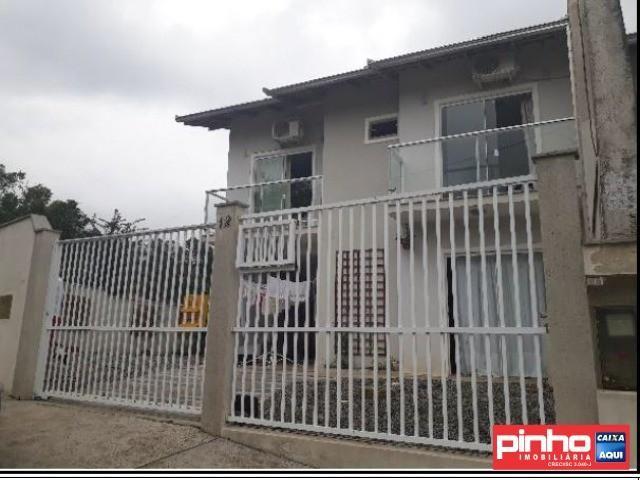 Casa geminada 03 dormitórios, venda direta caixa, bairro guanabara, joinville, sc, assesso - Foto 3
