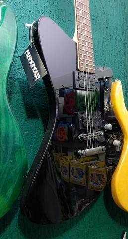 Guitarra Fernandes Vertigo X Bk Preta linda no mostruário da Loja instrumento novo! - Foto 6