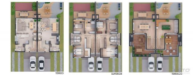 Casa de condomínio à venda com 3 dormitórios em Morro do espelho, São leopoldo cod:11310 - Foto 2