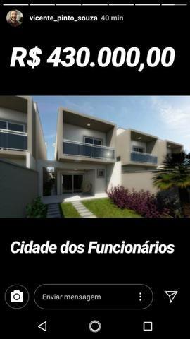 Maravilhosa casa duplex na planta na cidade dos funcionários - Foto 4