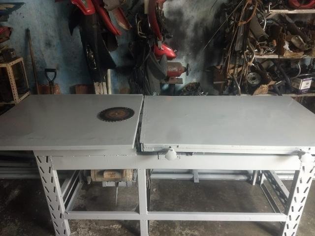 Mesa para cortar madeira (PREÇO A NEGOCIAR) - Foto 4